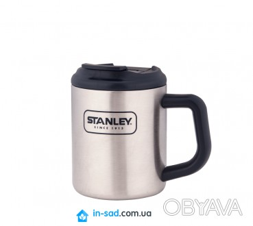 Термокружка Adventure SS Camp 0.35L Stanley