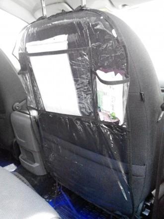 Защитный чехол-органайзер на спинку сидения автомобиля надолго сохранит обивку с. Киев, Киевская область. фото 3