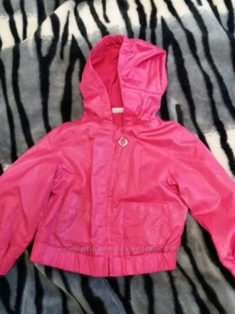 Ветровка лёгкая для девочки куртка. Полтава. фото 1