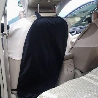 Защитный чехол на спинку переднего сидения надежно защитит оббивку салона от ног. Киев, Киевская область. фото 3