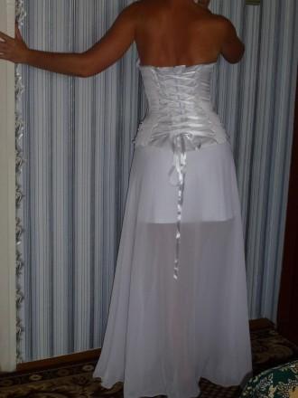 Новое платье, одевалось один раз на свадьбу. В отличном состоянии.. Винница, Винницкая область. фото 5