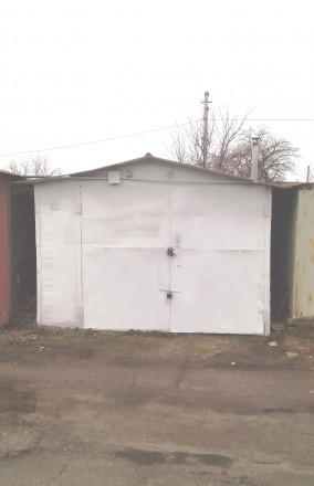 Продам металлический гараж в гаражном кооперативе. Запоріжжя. фото 1