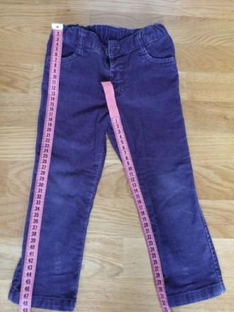 Вельветовые/ вельветові штани штаны джинсы унисекс Matalan.. Житомир. фото 1