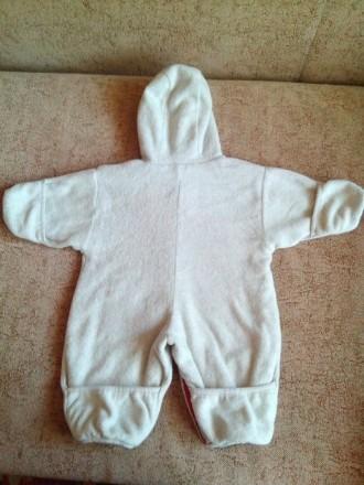 Продам теплый комбинезон-человечек на малыша от рождения. По бирке 62-68 см. Сос. Днепр, Днепропетровская область. фото 7