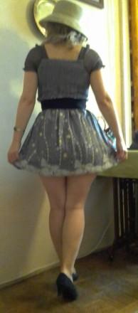 Платье коктейльное шифон. Львов. фото 1