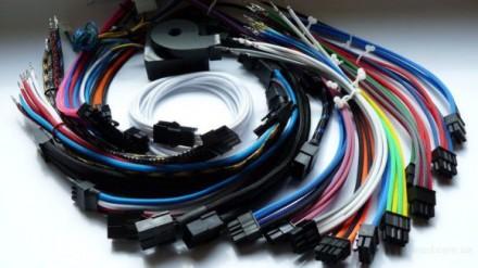 Декоративная круглая эластичная кабельная оплетка Flexo PET. Techflex купить. Киев. фото 1