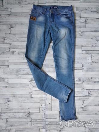 Джинсы Cudi jeans женские голубые