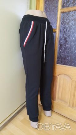 спортивные штаны черные брюки подростковые на девочку