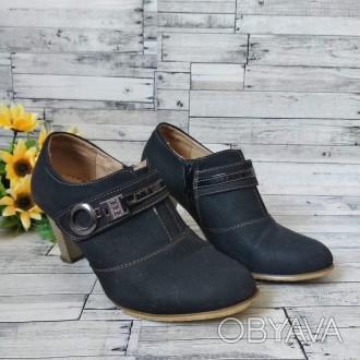 Туфли осенние Naerkang женские черные