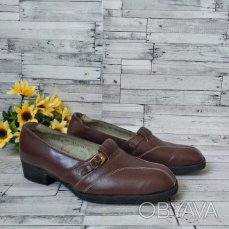 Туфли женские коричневые