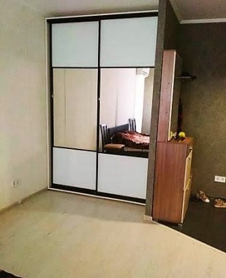Сдам 1-комнатную в ЖМ Радужный. Капремонт, красивая, светлая, вход в комнату- ар. Таирова, Одесса, Одесская область. фото 4