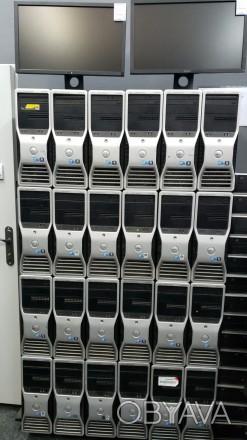 Мощный Игровой компьютер DELL на базе Рабочей станции T5500 4-Ядра
