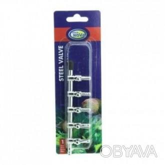 Кран на пять выходов (металл) для шланга Aqua Nova NV-S5