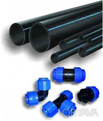 Труба ПЕ-100. Трубы SDR. Труба поліетиленова. Труба пластиковая 20-630