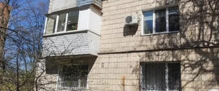 2к квартира по улице Голосеевский проспект 91, возле метро ВДНХ.    Дом во дворе. Киев, Киевская область. фото 3