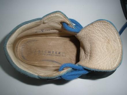 Продам демисезонные ботиночки фирмы Richter в хорошем состоянии. Ботинки внутри . Чернигов, Черниговская область. фото 6