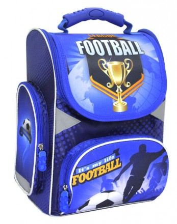 Каркасный ортопедический ранец Football Cool for School. Павлоград. фото 1