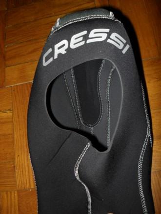 Гидрошлем Cressi ( толщина 3 мм ) - размер М-L ( 57-58 см ). Киев. фото 1