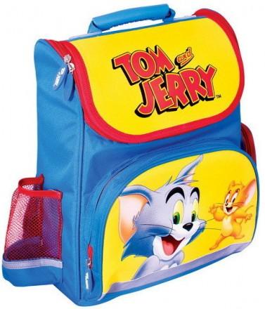 Ранец школьный Tom and Jerry каркасный (TJ02812). Павлоград. фото 1
