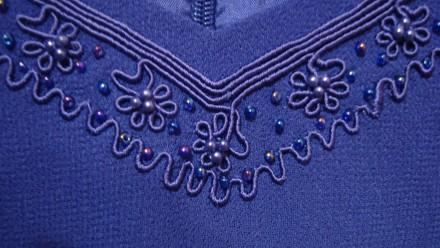 Продаю импортный новый весенне-летне-осенний женский нарядный костюм-двойку слив. Николаев, Николаевская область. фото 9