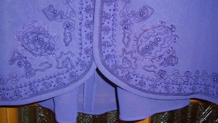 Продаю импортный новый весенне-летне-осенний женский нарядный костюм-двойку слив. Николаев, Николаевская область. фото 11