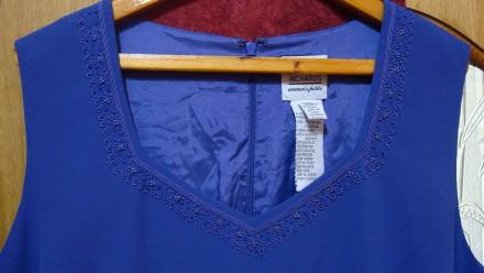 Продаю импортный новый весенне-летне-осенний женский нарядный костюм-двойку слив. Николаев, Николаевская область. фото 7