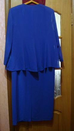 Продаю импортный новый весенне-летне-осенний женский нарядный костюм-двойку слив. Николаев, Николаевская область. фото 4