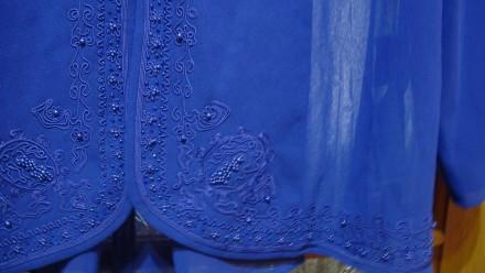 Продаю импортный новый весенне-летне-осенний женский нарядный костюм-двойку слив. Николаев, Николаевская область. фото 8