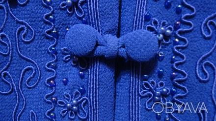 Продаю импортный новый весенне-летне-осенний женский нарядный костюм-двойку слив. Николаев, Николаевская область. фото 1