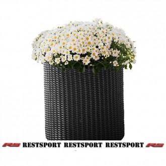 Горшок для цветов Keter - Cylinder Planter Small. Киев. фото 1