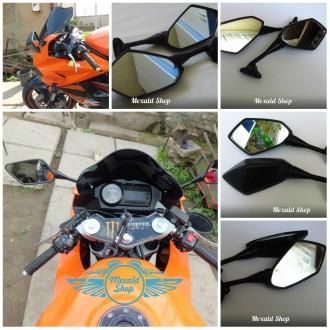 Зеркала на мотоцикл Honda CBR,Yamaha R1-R6, Kawasaki ZX6R. Харьков. фото 1