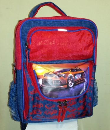 Ортопедический рюкзак Авто Castrol для 1-2 классов. Павлоград. фото 1