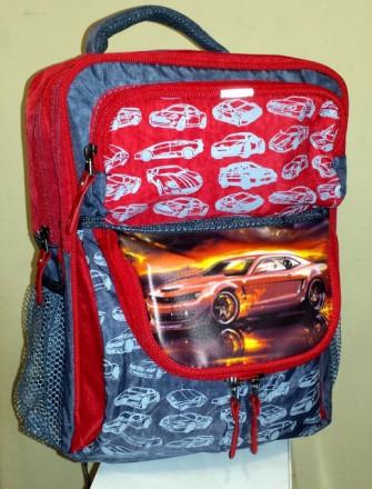 Ортопедический рюкзак Orange car для 1-2 классов. Павлоград. фото 1