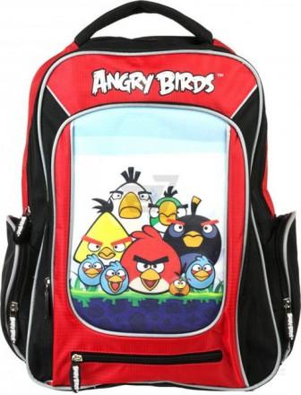 Рюкзак школьный ортопедический Angry Birds Space AB03810. Павлоград. фото 1