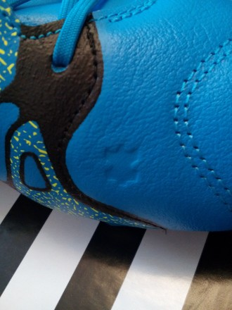 Продам новые бутсы (копочки) Adidas Адидас FG/AG X 15.2 кожа кенгуру оригинал! . Киев, Киевская область. фото 8