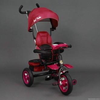 Детский трёхколёсный велосипед 6699 КРАСНЫЙ. Одеса. фото 1