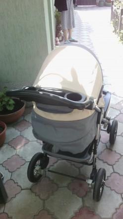 Коляска 2 в 1 Everflo подходит для деток с рождения и до 3-х лет. Пластиковая л. Одесса, Одесская область. фото 4