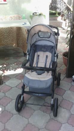 Коляска 2 в 1 Everflo подходит для деток с рождения и до 3-х лет. Пластиковая л. Одесса, Одесская область. фото 3