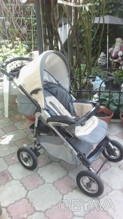 Коляска 2 в 1 Everflo подходит для деток с рождения и до 3-х лет. Пластиковая л. Одесса, Одесская область. фото 1