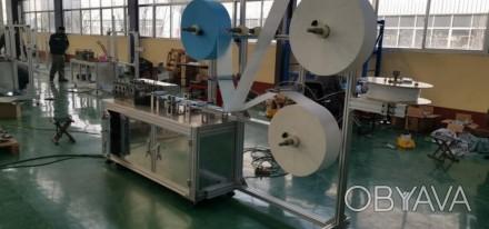 Автоматические линии для производства трехслойных масок