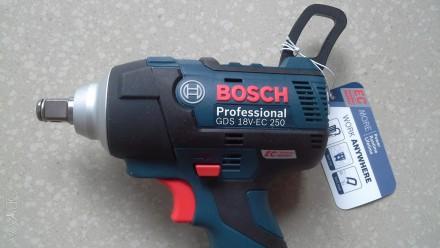 Продам гайковерт Bosch gbs 18v professional новый (тушка, цена без аккумулятора . Днепр, Днепропетровская область. фото 8