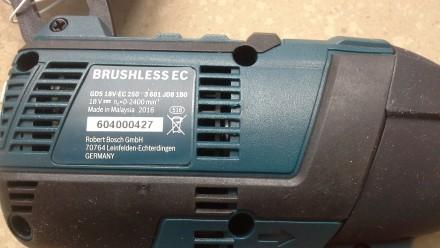 Продам гайковерт Bosch gbs 18v professional новый (тушка, цена без аккумулятора . Днепр, Днепропетровская область. фото 6
