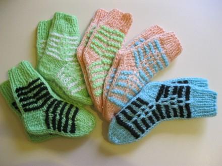 Детские шерстяные теплые носки.. Полтава. фото 1