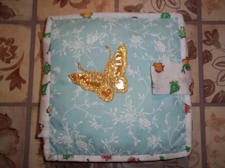 Развивающая книжка из фетра и ткани для детей  от 1 года до 5 лет.Изготовлена из. Александрия, Кировоградская область. фото 2