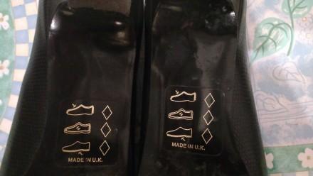 Туфли чёрные 38р.Европа в идеальном состоянии,стелька 25см,кожзам отличного каче. Кривой Рог, Днепропетровская область. фото 6