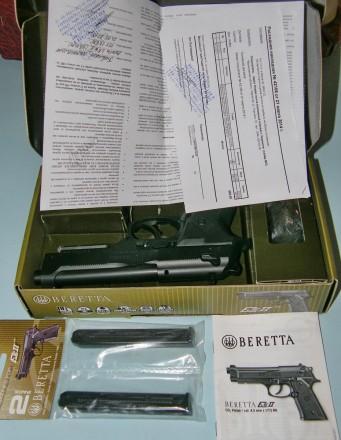 Пистолет Beretta Elite II. Новый. Не сделал ни единого выстрела. Не заряжался. Б. Чернигов, Черниговская область. фото 4