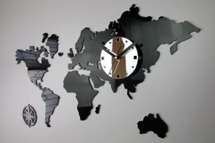 Новое и очень оригинальное решение. Уникальные и современные настенные часы. Их. Киев, Киевская область. фото 2