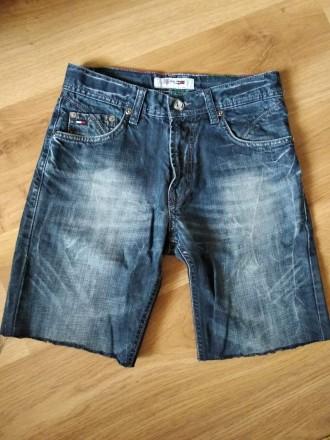 Моднячие джинсовые шорты - рванки Tommy Hilfiger, бирки нет, 100% коттон, будут . Ужгород, Закарпатская область. фото 3