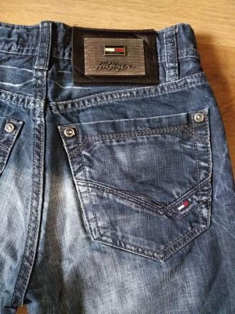 Моднячие джинсовые шорты - рванки Tommy Hilfiger, бирки нет, 100% коттон, будут . Ужгород, Закарпатская область. фото 6