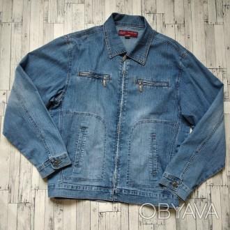 Джинсовый пиджак куртка LS Lulao san мужской
